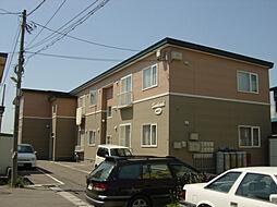 北海道北斗市久根別1丁目の賃貸アパートの外観
