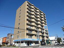 北海道函館市宝来町の賃貸マンションの外観