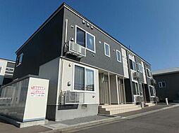 北海道函館市山の手2丁目の賃貸アパートの外観