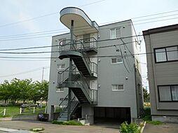 北海道北斗市七重浜5丁目の賃貸アパートの外観