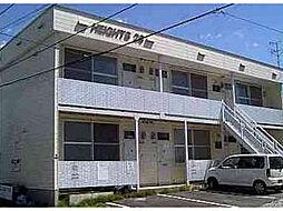 北海道函館市美原3丁目の賃貸アパートの外観