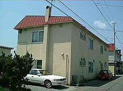 北海道北斗市七重浜7丁目の賃貸アパートの外観