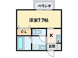 シャーメゾン泉宮[2階]の間取り