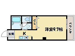 フィネスファンタジスタ[1階]の間取り
