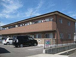 フィネス八幡[2階]の外観