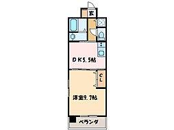 フォンターレ[7階]の間取り