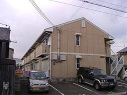 滋賀県大津市中庄1丁目の賃貸アパートの外観