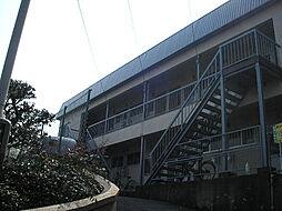 滋賀県大津市平津2丁目の賃貸アパートの外観