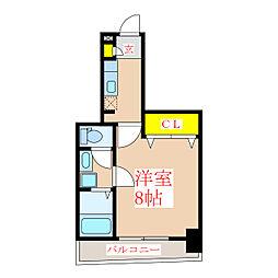 フォルシュ加治屋[4階]の間取り