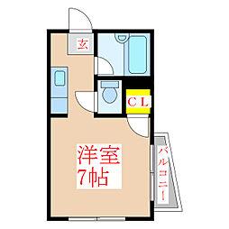 メゾンアリーナ[4階]の間取り