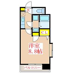 ダコタ[3階]の間取り