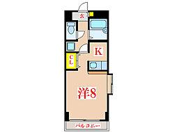 新屋敷山元マンション [3階]の間取り