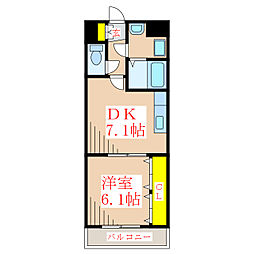 y&m武[3階]の間取り