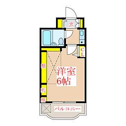 ヴォルフスガルテン上之園[9階]の間取り