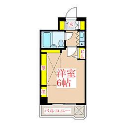 ヴォルフスガルテン上之園[11階]の間取り
