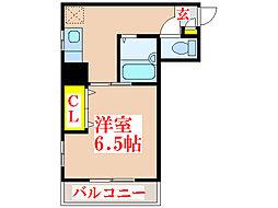 エステート加治屋[3階]の間取り