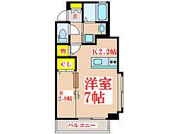 Kanon[4階]の間取り