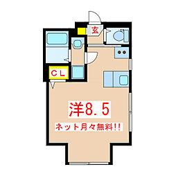 Air/Rose[2階]の間取り