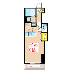 エル・カ・アーサII[1階]の間取り