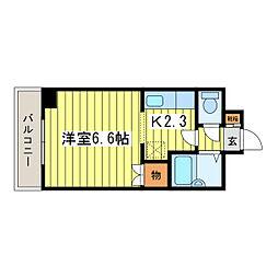 プロシード元町[3階]の間取り