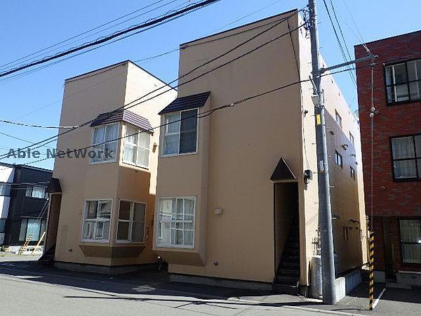 北海道札幌市東区北二十三条東13丁目の賃貸アパート
