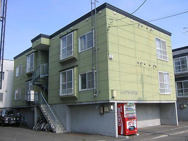 北海道札幌市東区北二十八条東19丁目の賃貸アパート