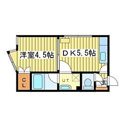 メゾンド・シン[2階]の間取り
