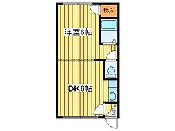 サンシャイン元町[3階]の間取り