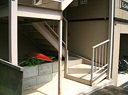 エアフォルグ北大II[3階]の外観