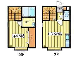 セレクトN28[2階]の間取り