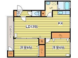 ドリーム35[1階]の間取り