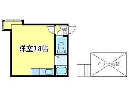 ピュア307[1階]の間取り
