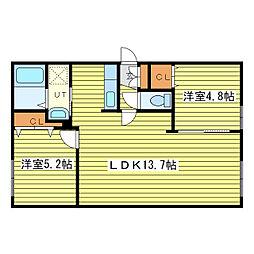 Solaie N36[1階]の間取り