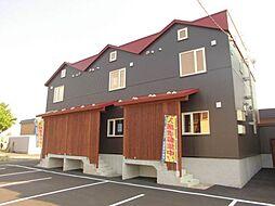 [テラスハウス] 北海道札幌市東区東雁来十条2丁目 の賃貸【/】の外観