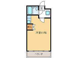 シティーコーポ田口[3階]の間取り