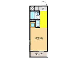 シティコア岐阜[6階]の間取り