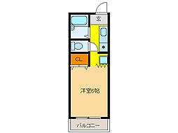 ASANOII[4階]の間取り
