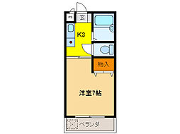 なかむらビル[2階]の間取り