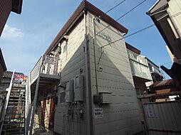 岐阜県岐阜市永田町の賃貸アパートの外観