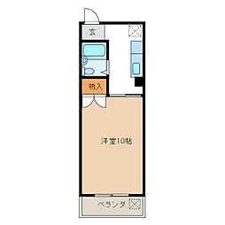 エステートピア[2階]の間取り