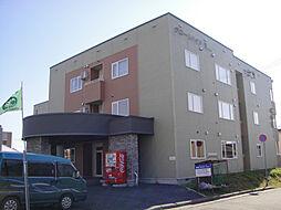 北海道北見市幸町4丁目の賃貸アパートの外観