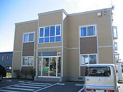 北海道北見市北進町4丁目の賃貸アパートの外観