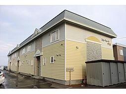 北海道北見市小泉の賃貸アパートの外観