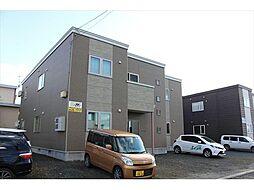 北海道北見市川沿町の賃貸アパートの外観