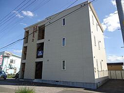 北海道北見市桂町4丁目の賃貸アパートの外観