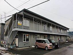 北海道北見市常盤町4丁目の賃貸アパートの外観