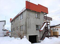 北海道北見市泉町4丁目の賃貸アパートの外観