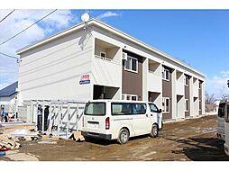 北海道北見市清見町の賃貸アパートの外観