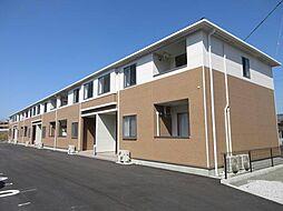 鹿児島県霧島市国分向花町の賃貸アパートの外観