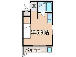 瀬田エステートシティー[4階]の間取り